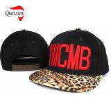平らなBrimleopardの野球の急な回復の帽子