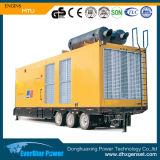 휴대용 차 트레일러 이동할 수 있는 2400kw 3000kVA 디젤 엔진 발전기 세트 (20V4000G63L)
