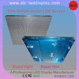 Tela interna alugado flexível do diodo emissor de luz da cor cheia (P4.8, P5, P5.33, P6, P7.62)