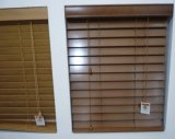 De Jaloezies van Basswood met Manual Inside /Outside voor Window Blinds