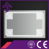 Espelho leve diodo emissor de luz da mobília da parede do banheiro Jnh258 com tela de toque