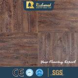 plancher en stratifié en bois stratifié par teck de chêne blanc de 12.3mm E0 AC4