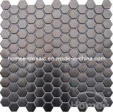 Tuiles de mosaïque - mosaïque en verre d'acier inoxydable de tuile de mosaïque (MBB17)