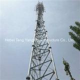강철 격자 통신 삼각형 Atenna 직류 전기를 통한 탑