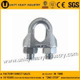 Clip malléable de fil du câble métallique de Galv DIN 741