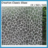 Vidro Gravado de Ácido do Cetim de 3-12mm com CE & ISO9001