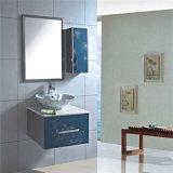 Petits armoires de salle de bain à pied en acier inoxydable