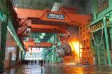 강철 엔진 74/20ton를 위한 전기 호이스트 드는 기계장치를 가진 훅 브리지 Eot 기중기
