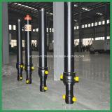 Cilindro hidráulico de vários estágios para a máquina da construção