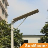 60W todo en una luz de calle solar con el sensor