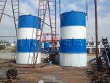 Silos de cemento Estructura de alta calidad 100t usados Silo de cemento en venta