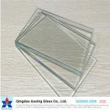 Aoxingの工場からの1mmから12mmの低い鉄かゆとりまたは染められた浮遊物または板ガラス