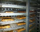 Спиральн быстро замораживатель еды с функцией CAS (тип 1500kg/h)