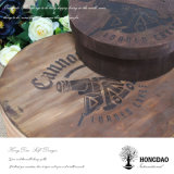 Hongdao 판매를 위한 둥근 나무로 되는 케이크 상자
