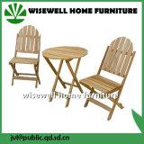 Jeu de meubles de table basse en bois solide