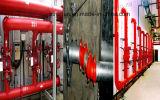 Té Grooved d'Eaqual de fer malléable pour le système d'arrosage de lutte contre l'incendie