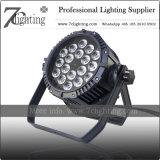 RGBWA-UV 6in1 LED NENNWERT Wäsche-Licht 18X18W IP bewertete ohne die Geräusche, die für Stadium, Live-Show arbeiten