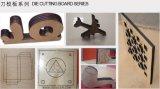 De houten MDF van de Bank van het Triplex CNC van Raadsels Scherpe Machine van de Matrijs van de Laser
