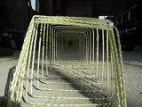 Rebar de haute résistance de Pultruded de fibre de verre de FRP pour des composants de construction