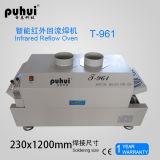 De Oven van de LEIDENE Terugvloeiing van SMT voor PCB, de Oven Puhui t-961 van de Terugvloeiing met 6 het Verwarmen Streken