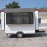 قهوة طعام عربة طعام عدّاد عربة طعام عمليّة بيع عربة مع باب وحيدة متحرّك طعام عربة يجمّد