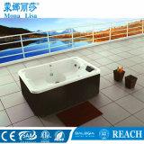 Vasca calda del mulinello delle 3 persone della STAZIONE TERMALE acrilica economica di massaggio (M-3331)