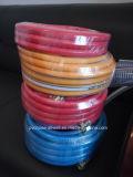 Шланг для бензина 8.5mm воздуха брызга давления 5-Layer PVC пластичный гибкий высокий