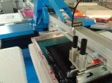 Impresora oval de la pantalla de seda de la tela automática