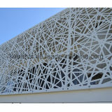 Perforated алюминиевая панель фасада здания металлического листа самомоднейшая