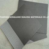 (KL1001G) Feuille de garniture de Non-Amiante enduite du graphite