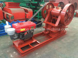 Huahong Small Stone Diesel Jaw Crusher con Clutch