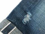 джинсыы Materia 20999 ткани джинсовых тканей Selvedge мытья камня 14.5oz красные