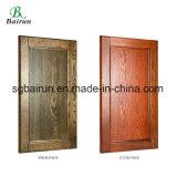 米国式の純木の食器棚のドア