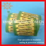 Douilles thermo-rétrécissables d'identification de câble de transfert thermique