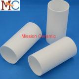 Tube en céramique de usinage personnalisé d'isolation d'alumine de 99.7% Al2O3/96%