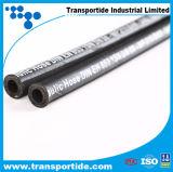 Singolo tubo flessibile 1sn del collegare del coperchio spostato il nero ad alta pressione