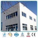 Vertiente de acero de dos pisos de la casa prefabricada de la fabricación