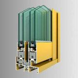 Extusion en aluminium sectionne les graines en bois pour le profil en aluminium