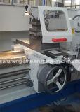 Macchina del filetto di conduttura d'acciaio di alta qualità di Cw6180q*2000mm