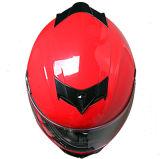 高品質のSunvisor ECEの標準の熱い販売の太字のモーターバイクのヘルメット