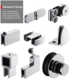 Frameless 5/16-Inch-Thick cancela o cerco do chuveiro do compartimento do chuveiro do vidro Tempered