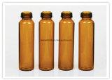 tubo de ensaio 7ml de vidro tubular ambarino