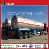 Del propano del petrolero el tanque del LPG del acoplado semi con 25 toneladas de capacidad