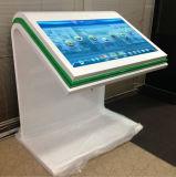 Vloer die het Interactieve Scherm van de Aanraking van 55 Duim allen bevinden zich in Één Kiosk