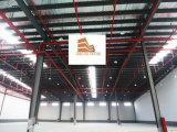 Edificio ligero de la estructura de acero para el almacén de la logística