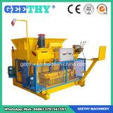 Macchina per fabbricare i mattoni vuota concreta idraulica mobile Qmy6-25/macchina del mattone