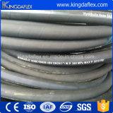 Hydraulische Slang van de Versterking van Roestvrij staal vier de Spiraalvormige