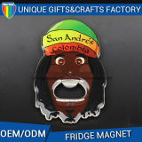 Custom Metal Fridge Magnets Bottle Opener Shape
