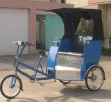 Pedal de duas funções e Rickshaw de energia elétrica