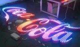 De super Kleurrijke Brieven van het Teken van het Effect Voor voor Pretpark, Club, Staaf